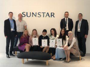 Тренинг от компании Sunstar